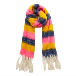 3/$20 NEW Aerie Woven Blanket pink striped Scarf